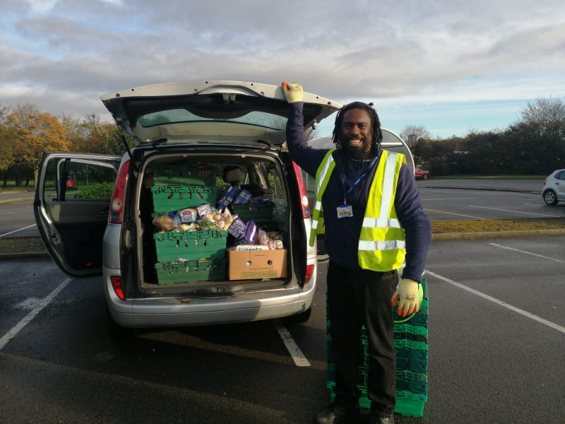Working to stop food poverty.